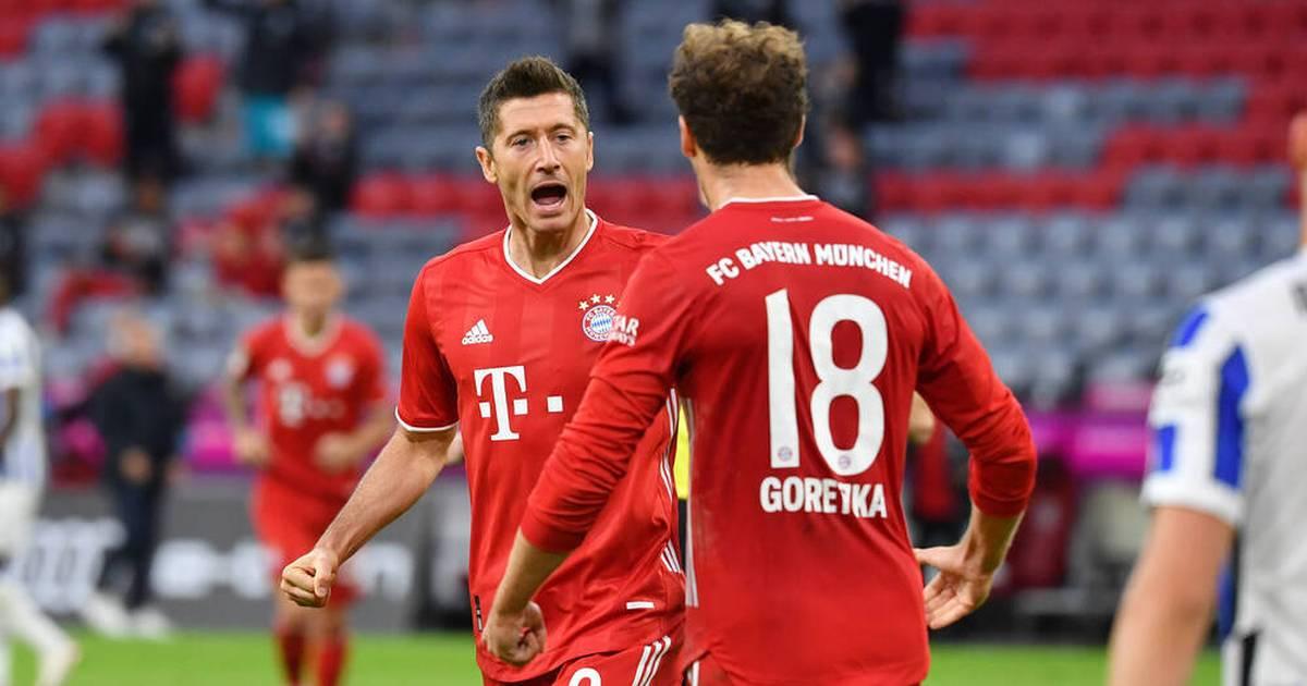 FC Bayern: Robert Lewandowski schießt 100. Tor in Allianz Arena