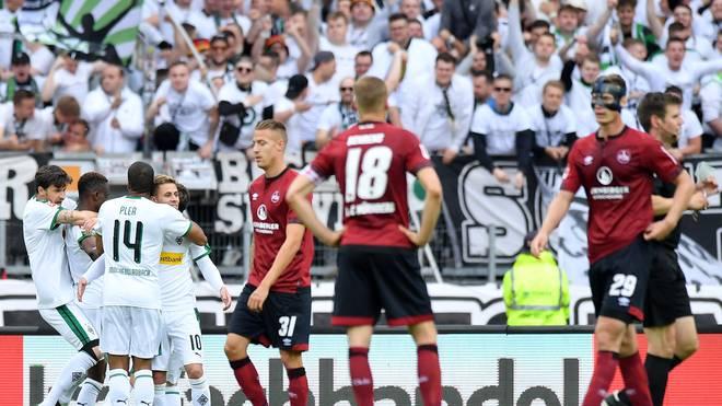 Der 1. FC Nürnberg ist nach der Niederlage gegen Gladbach abgestiegen