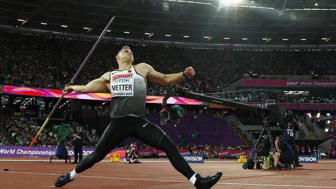 Johannes Vetter gehört zu den besten Speerwerfern der Welt