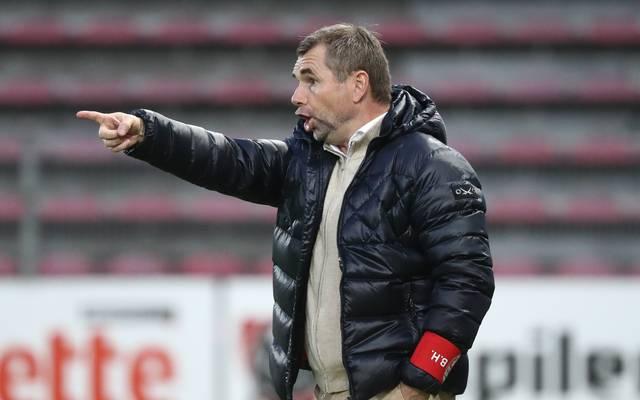 Bernd Hollerbach arbeitet als Trainer von Royal Excel Mouscron