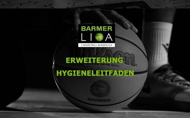 Die zweite Basketball-Bundesliga passt das Hygienekonzept an