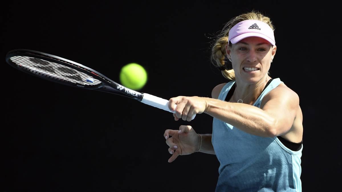 Angelique Kerber schied beim Vorbereitungsturnier in Sydney gegen Petra Kvitova aus