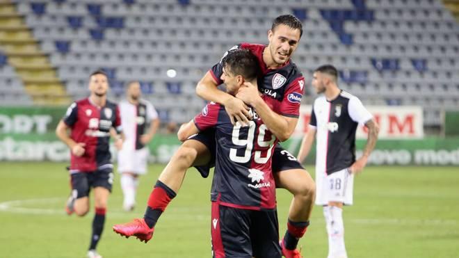 Juventus hatte bei Cagliari Calcio nichts zu melden