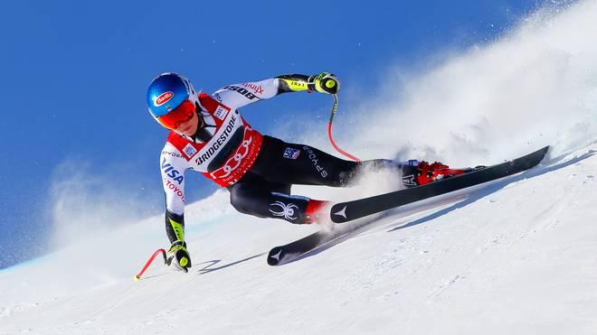 Mikaela Shiffrin hat den Super G in St. Moritz gewonnen
