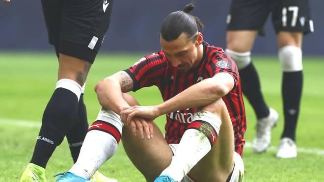 Zlatan Ibrahimovic fehlt dem AC Mailand gegen Hellas Verona wegen einer Grippe
