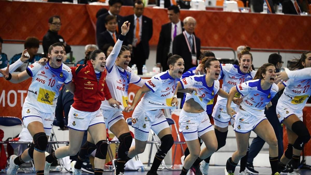 Spanien steht im Finale der Handball-WM der Frauen