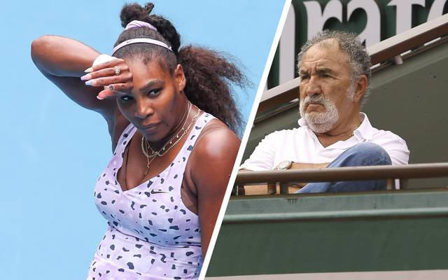 Serena Williams wird nicht zum ersten Mal von Ion Tiriac attackiert