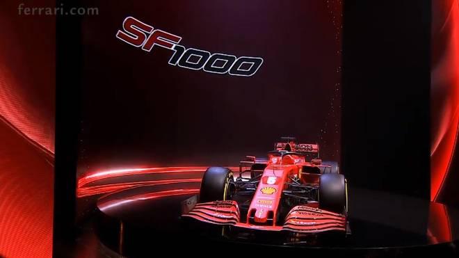 Ferrari hat den neuen SF1000 für die Formel-1-Saison 2020 präsentiert