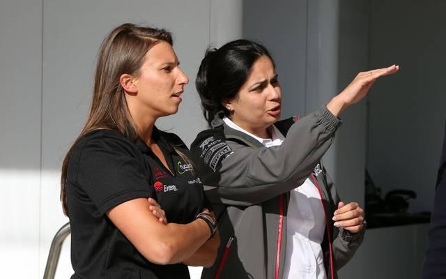 Monisha Kaltenborn (r.) hätte Simona de Silvestro gerne ein Formel-1-Cockpit angeboten