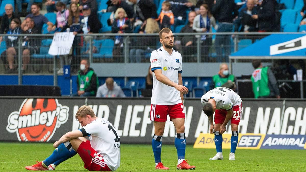 """""""Einfach dämlich angestellt"""": HSV hadert mit Blitz-Gegentor"""