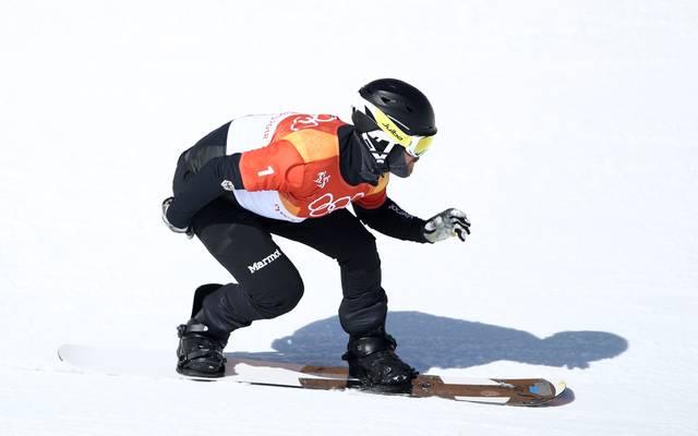 Snowboardcrosser Martin Nörl scheitert im Halbfinale wegen einem Sturz