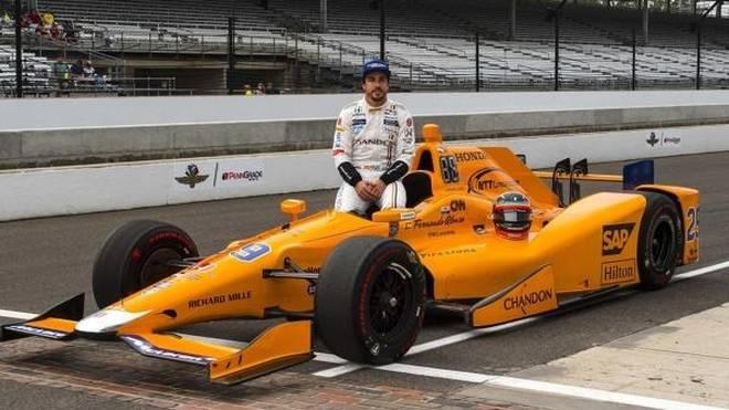 Fernando Alonso wagt 2019 wie schon 2017 das Abenteuer Indy 500