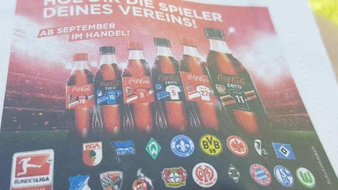 Leipzig-Fans suchen eine individuelle Cola vergeblich