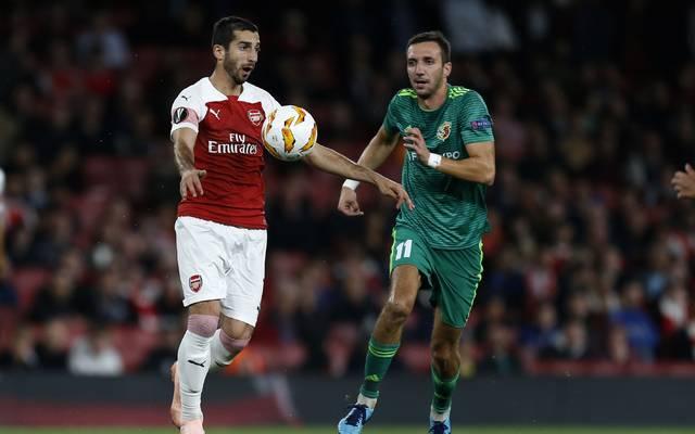Das Hinspiel gegen Poltawa gewann der FC Arsenal mit 4:2