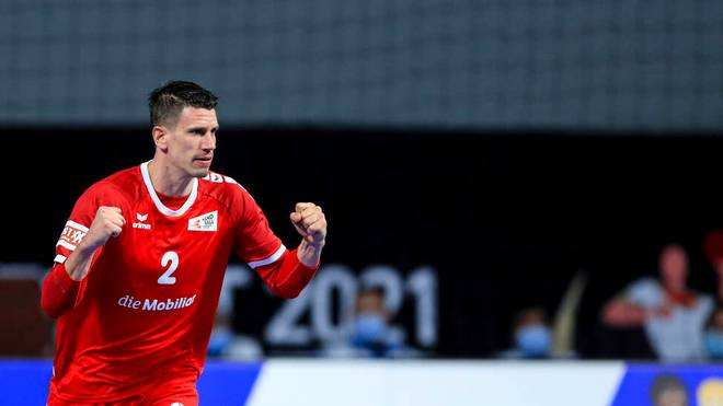 Andy Schmid hofft mit der Schweiz noch auf den Einzug ins WM-Viertelfinale