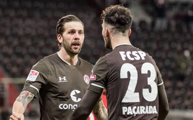 Guido Burgstaller traf zweimal gegen Darmstadt
