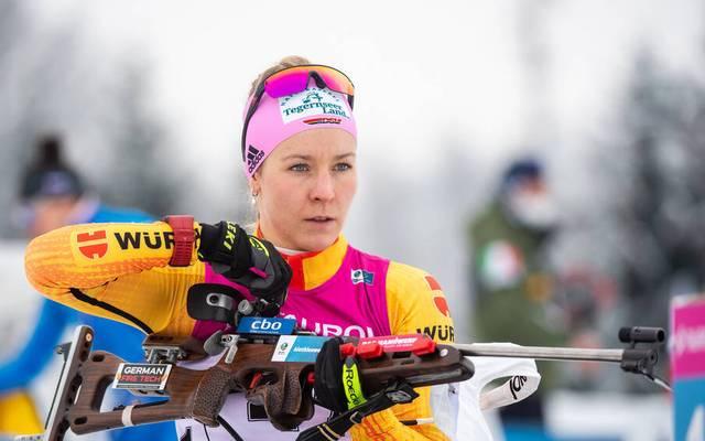 Stefanie Scherer darf sich über den EM-Titel freuen