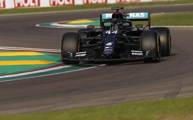 Lewis Hamilton kann mit einem weiteren Erfolg in Imola eine Vorentscheidung im Titelrennen erzwingen