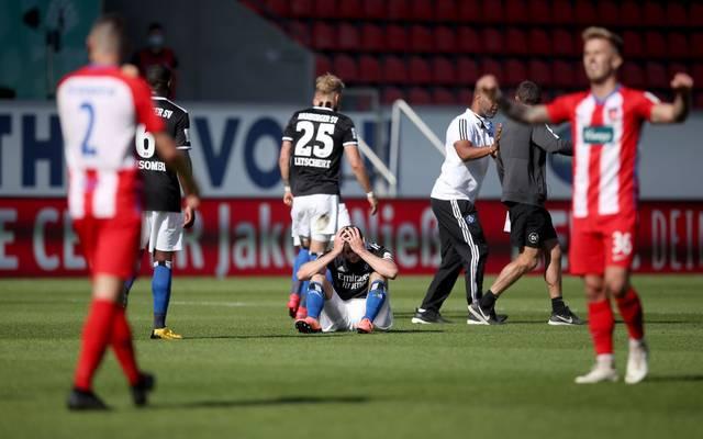Der Hamburger SV verspielt erneut in der Nachspielzeit wichtige Punkte