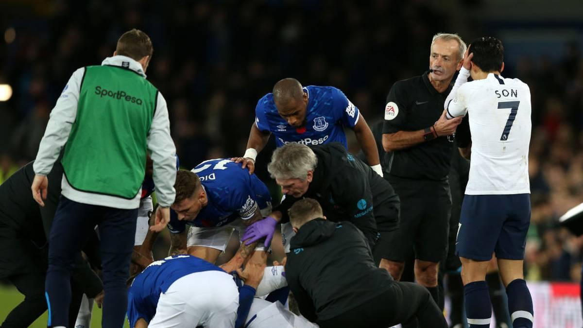 Premier League Fc Everton Tottenham Hotspur 1 1 Horror