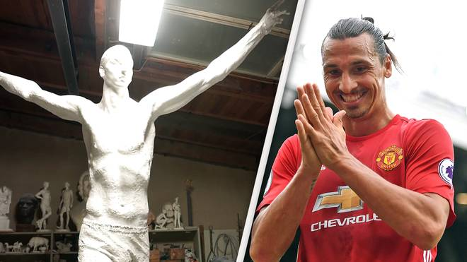 Statue für Zlatan Ibrahimovic
