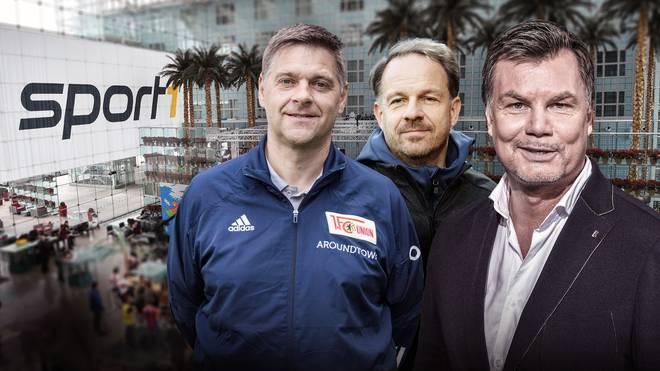 Oliver Ruhnert und Alexander Zorniger sind zu Gast im CHECK24 Doppelpass