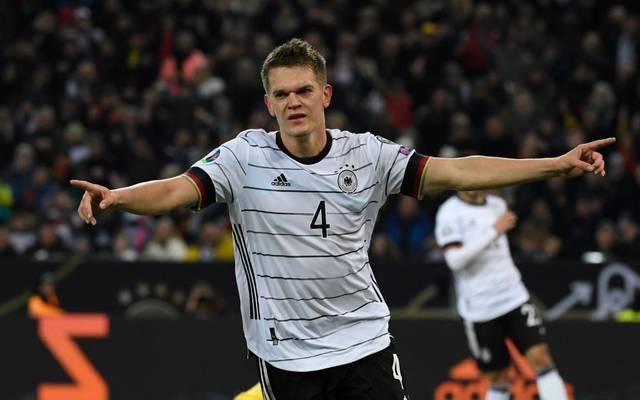 Matthias Ginter wurde zum Nationalspieler des Jahres gewählt