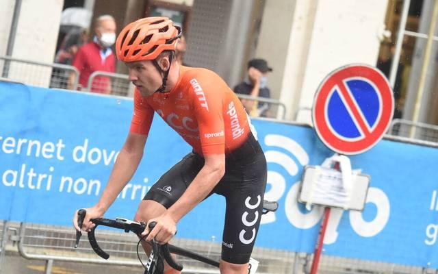 Jonas Koch gibt mit 27 Jahren sein Tour-Debüt für das Team CCC.