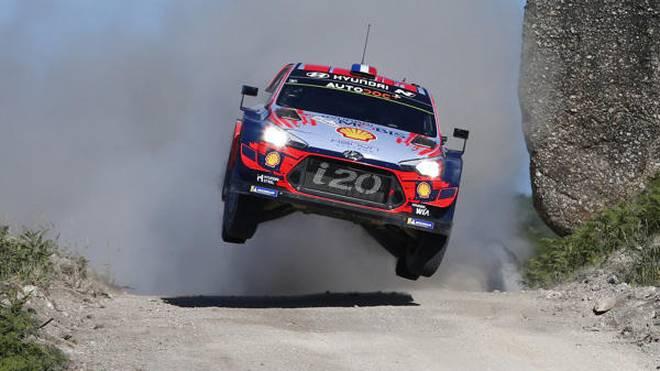 Sebastien Loeb fiel in Portugal wegen eines technischen Problems früh aus