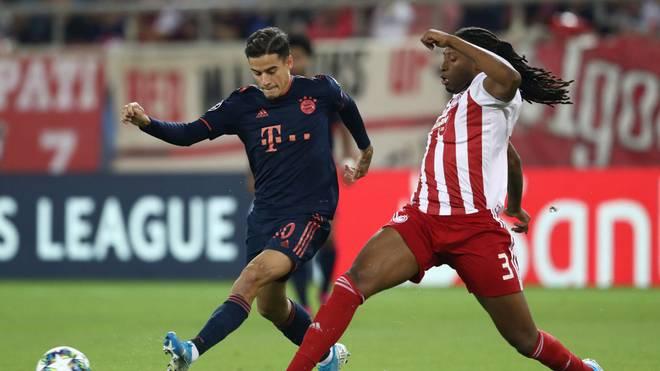 Philippe Coutinho im Spiel gegen Piräus