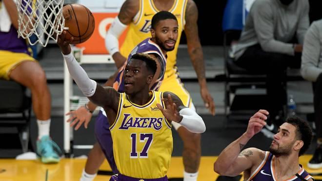 Dennis Schröder ist seit November 2020 bei den Los Angeles Lakers