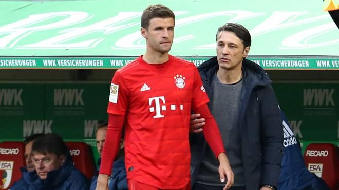Thomas Müller wurde von Niko Kovac auf die Bank verbannt