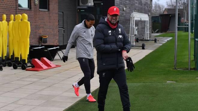 Jürgen Klopp und der FC Liverpool dürfen ab Dienstag wieder trainieren