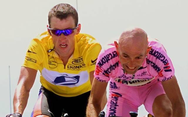 Marco Pantani siegte bei der Tour de France 2000 am Mont Ventoux vor Lance Armstrong