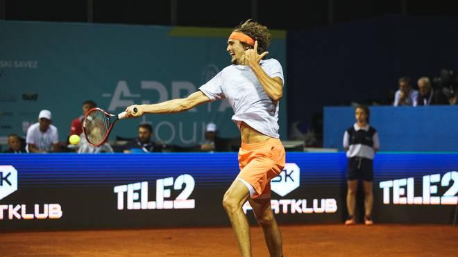 Alex Zverev gewinnt die erste Partie beim Turnier in Nizza