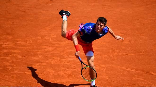 Yannick Maden beschäftigte Rafael Nadal mehr als zwei Stunden lang