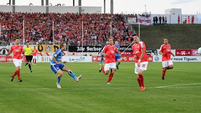 FSV Zwickau v Hamburger SV - DFB Cup