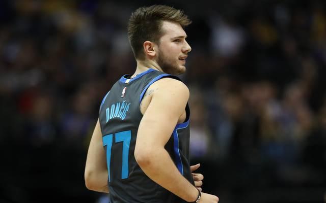 Luka Doncic spielt seit dieser Saison bei den Dallas Mavericks