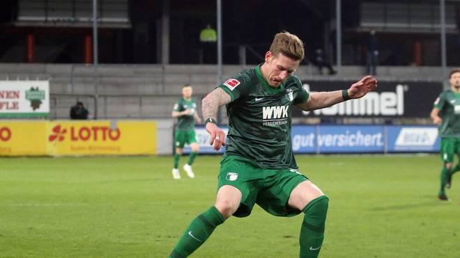 André Hahn erzielte zwei Tore gegen Heidenheim