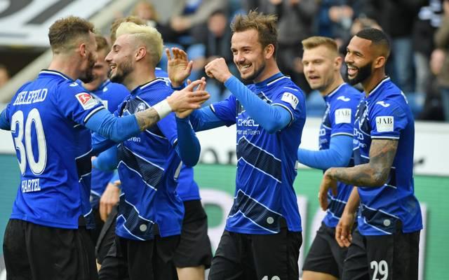 Bielefeld ist auf Kurs Bundesliga-Aufsteig