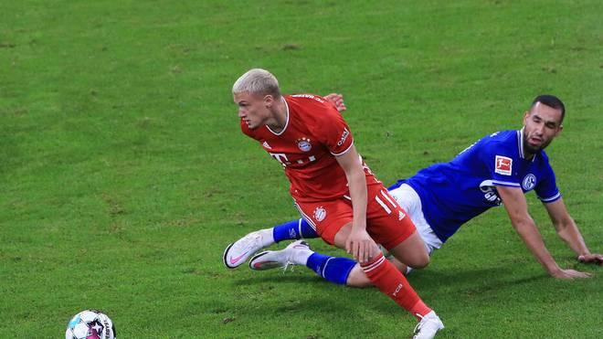 Michael Cuisance kam in der aktuellen Saison nur gegen Schalke zum Einsatz
