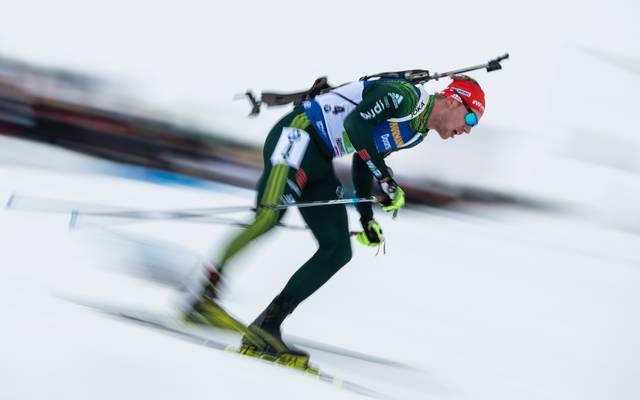 Biathlon: Arnd Peiffer Vierter bei Sieg von Johannes Thingnes Bö