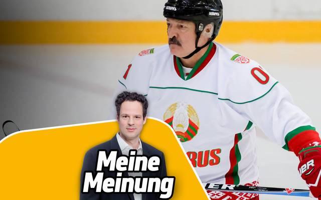 SPORT1-Redakteur Christian Paschwitz kommentiert den WM-Entzug für Belarus