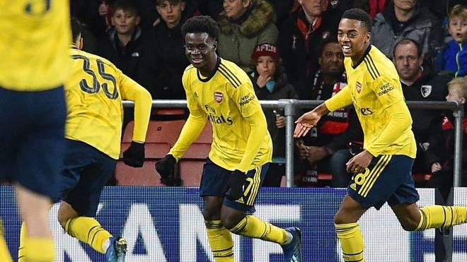 Bukayo Saka brachte den FC Arsenal in Führung