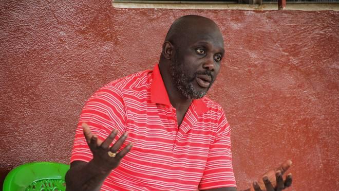 George Weah kandidiert als Präsident von Liberia