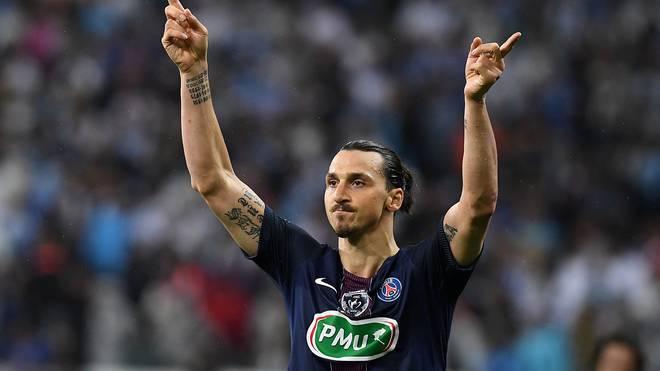 Zlatan Ibrahimovic spielte zuletzt bei Paris St. Germain