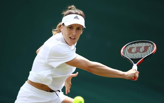 Andrea Petkovic ist die Nummer 91 der Weltrangliste