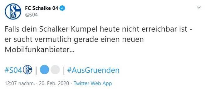 Schalke 04 reagierte mit Humor auf den neuen BVB-Sponsorendeal