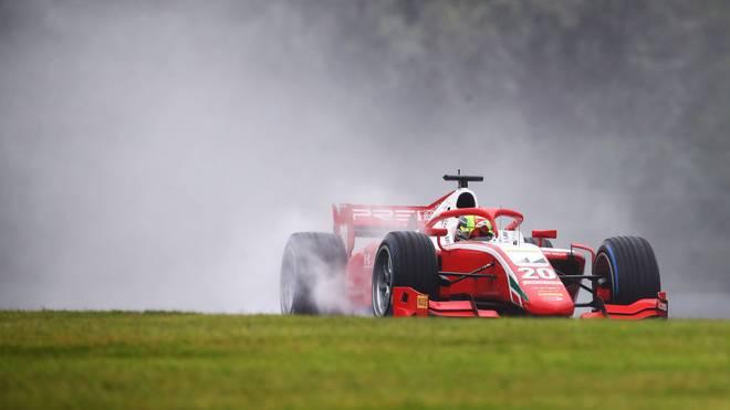 Mick Schumacher fuhr auf dem Hungaroring auf Platz drei.