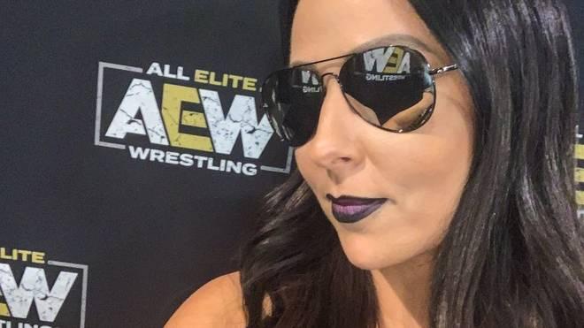 Tenille Dashwood (früher: Emma) mischte bei AEW All Out mit